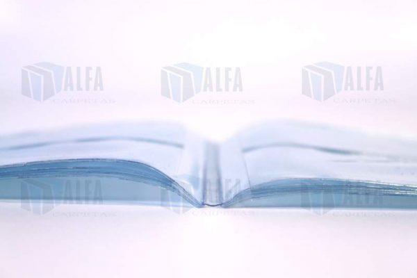 Micas para tarjetas de presentación en vinil cristal