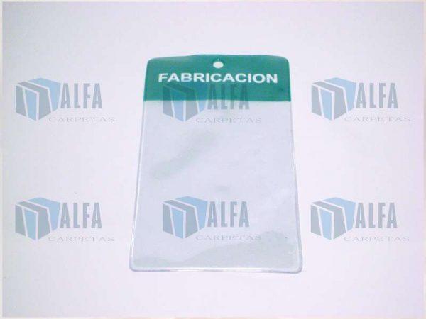 Micas bolsillo transparente para almacén o línea de produccion