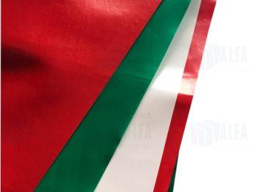 Banderines tricolor patrio mexicano