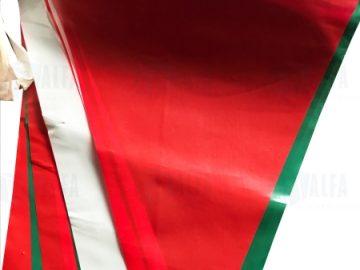 Banderines colores mexicanos septiembre