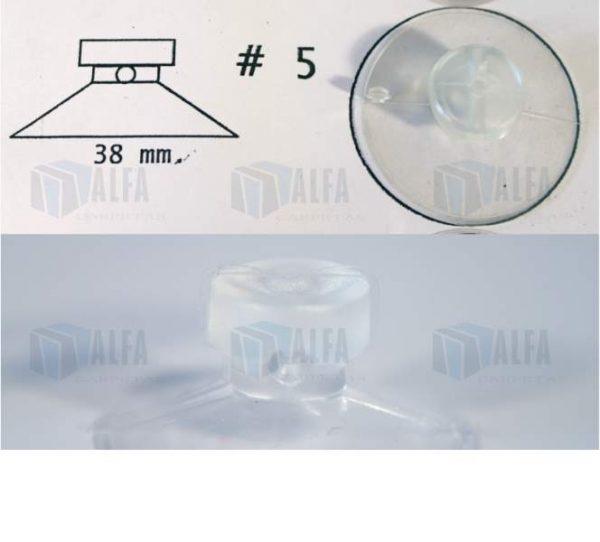 chupon transparente para colgar POP