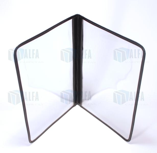 protector de menu cristal