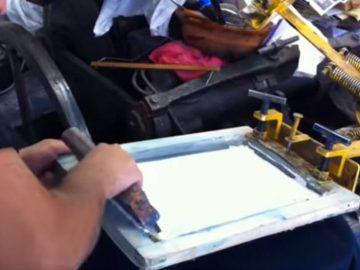 Impresión en Serigrafía - Carpetas Alfa