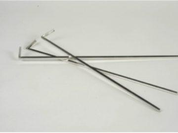 Cañuela metalica para carpeta registrador carta (HE4)