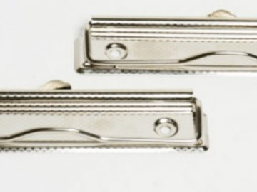 Clip sujeta documentos con alambre 12cm (HE27)
