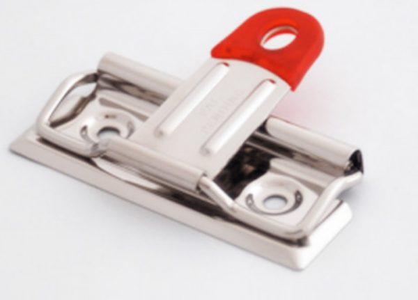 Clip sujeta documentos con alambre y palanca 7cm (HE53)