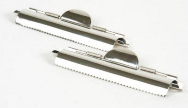 Clip sujetador de documentos con dientes 11 cm (HE7)