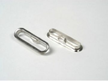 Ranura metalica para argollas de herraje registrador (HE5)