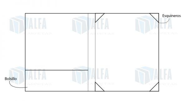 Diagrama de portadiploma interior