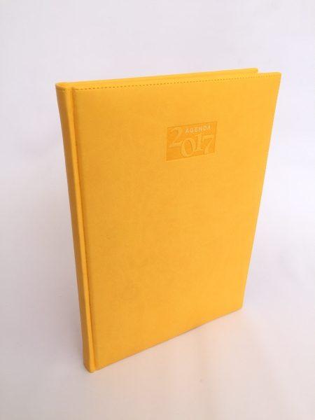Agenda italiana amarillo