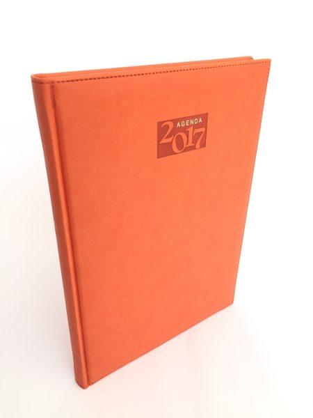 Agenda italiana naranja
