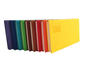 agenda de bolsillo colores grabada