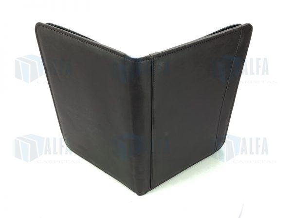 Folder ejecutivo Navy exterior