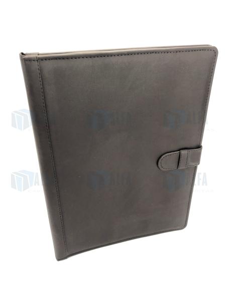 Folder curpiel con fuelle IBID