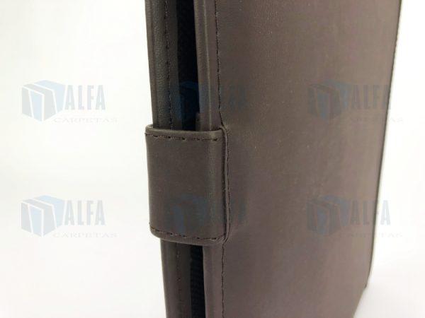 Folder curpiel con fuelle cerrado IBID