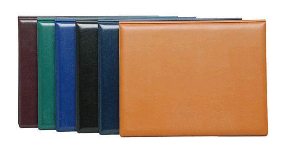 Folder curpiel cosido colores exterior