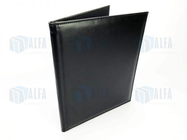 Folder curpiel y poliester exterior (DOM)