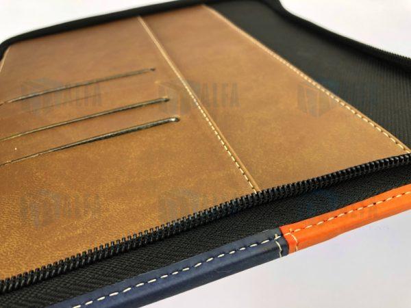 Folder quemante semi ejecutivo cierre detalle interior(VEST)