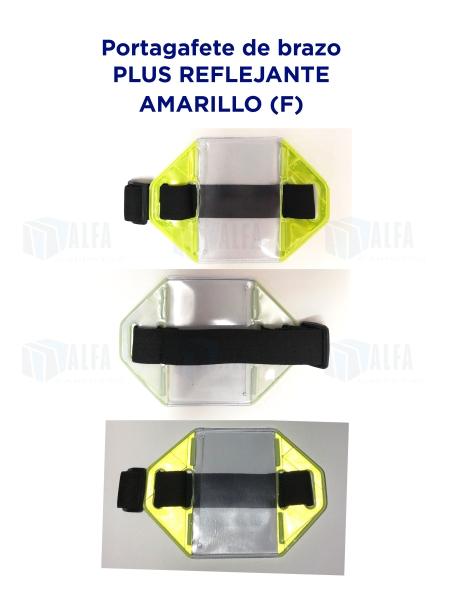 Gafete brazo Plus Reflejante AMARILLO (F)