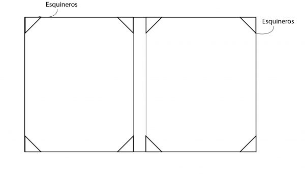 Folder portadiploma doble