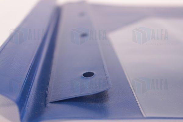 Folder vinil sellado cubierta cristal detalle ceja