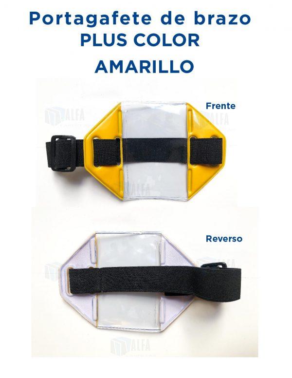 Gafete brazo Plus COLOR AMARILLO