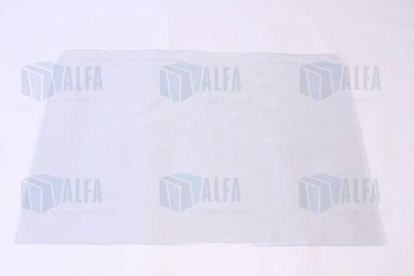 Mica doble carta colgante para señalizacion