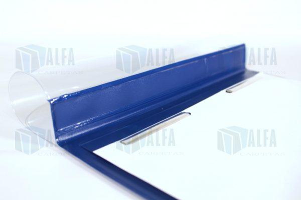 Folder doble carta con broches para planos
