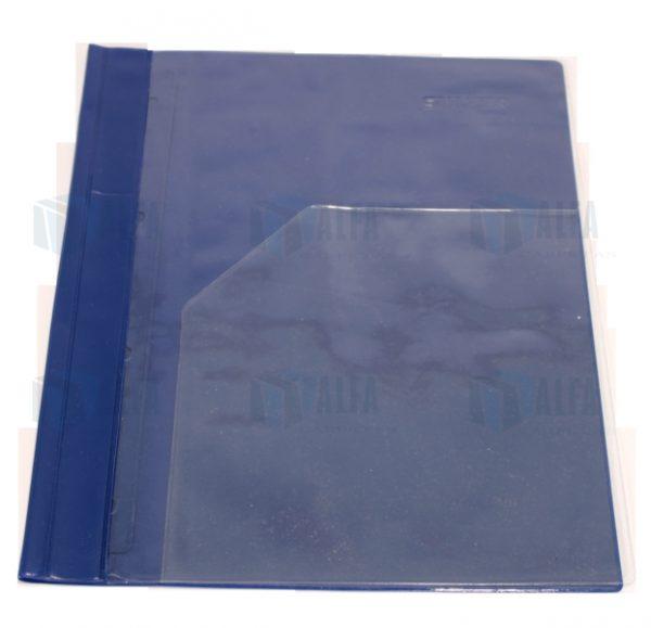 Porta documento carta con ventana en portada para informes