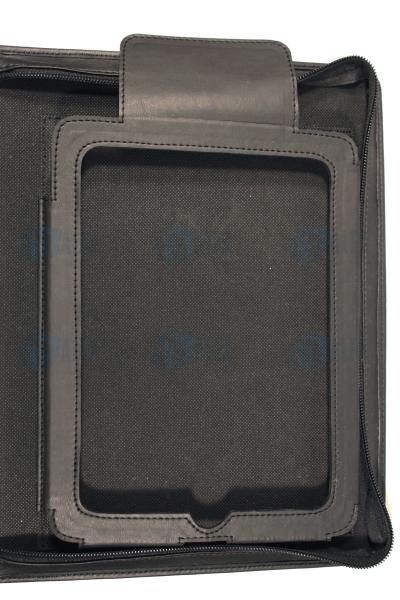 Porta tablet cierre perimetral detalle