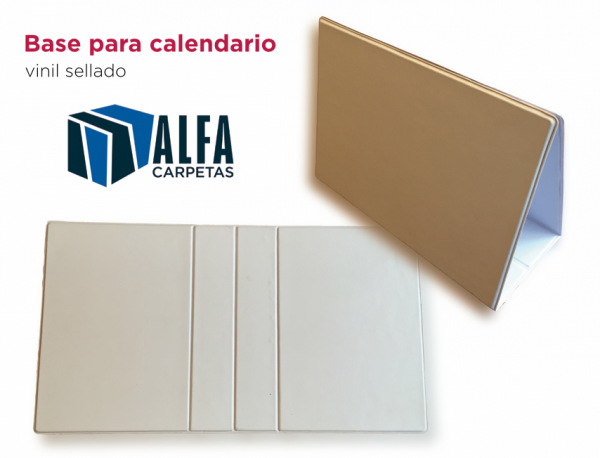 base calendario blanco