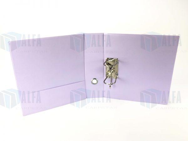 Carpeta registrador panoramica en vinil 3