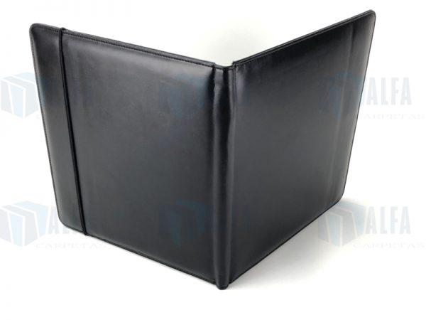 Folder portablock con resorte (LINA) abierto