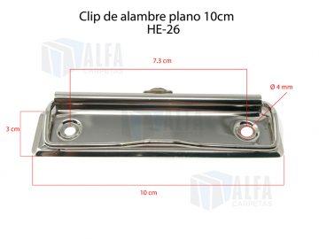 clip de alambre plano para tabla de 10cm