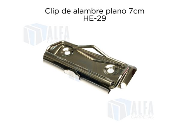 Clip HE29 atras