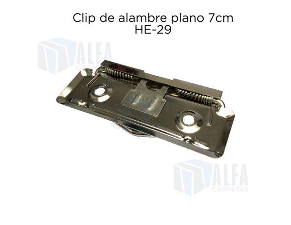 Clip HE29 reverso